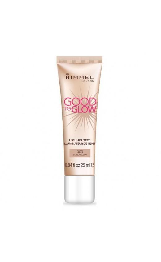 Rimmel Good To Glow Highlighter 003 Soho Glow (3 Units)