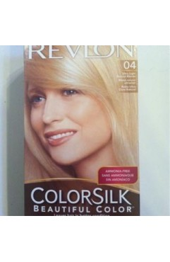 Revlon Colorsilk Beautiful Color Permanent 3D Hair Colour - 04 Ultra Light Natural Blonde (3 Units )