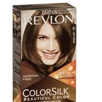 Revlon Colorsilk Beautiful Color Permanent 3D Hair Colour - 51 Light Brown (3 Units )
