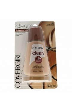 CoverGirl Clean Liquid Foundation 30ml - 120 Creamy Natural x 3