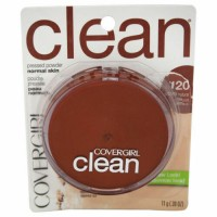 Covergirl Clean Perfect Pressed Powder 11g - 120 Creamy Natural x 3