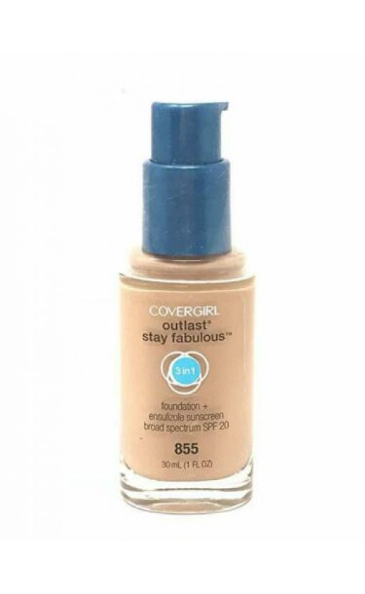 Covergirl Outlast All Day 3 in 1 Foundation - 855 Soft Honey x 3