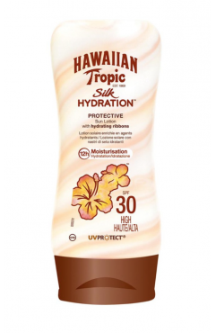 Hawaiian Tropic Silk Hydration Protective Sun Lotion SPF 30 + 180ml (Each )