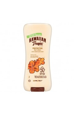 Hawaiian Tropic Satin Protective Sun Lotion SPF 50 +180ml (Each )