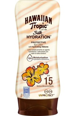 Hawaiian Tropic Silk Hydration Lotion SPF15 + 180ml (Each )