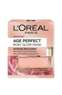 L'Oreal Paris Age Perfect Rosy Glow Intense Recovery Face Mask 50ml ( 3 Units )