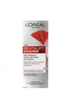 L'Oreal Skincare Revitalift Cicacrem Eye Cream 15ml x 6