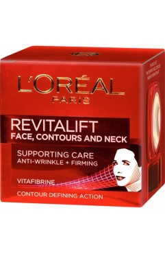 L'Oreal Paris Revitalift Face Contours and Neck Cream 50ml (3 Units )