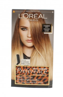 L'Oreal Preference Wild Ombres Hair Clour - Ombre N3 For Blond To Dark Blonde ( 6 Units )