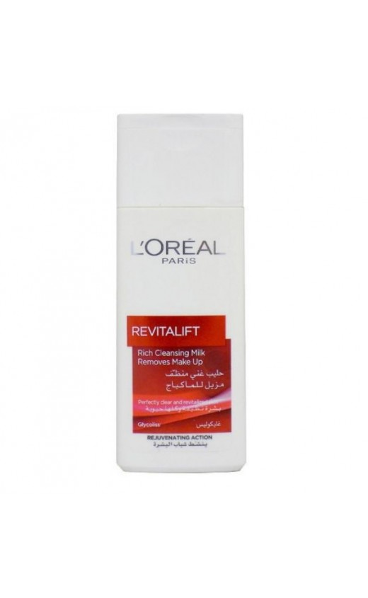 L'Oreal Revitalift Rich Cleansing Milk 200ml (6 Units )