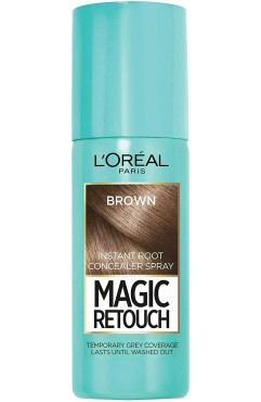 L'Oréal Paris Magic Retouch Instant Root Touch Up Spray 75ml - Brown (6 UNITS)