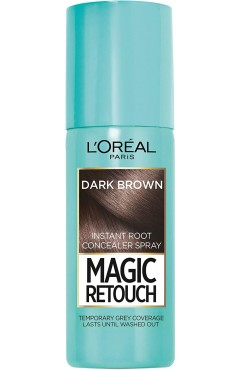 L'Oréal Paris Magic Retouch Instant Root Touch Up Spray 75ml - Dark Brown (6 UNITS)