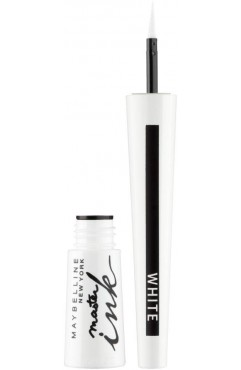 Maybelline Master Ink 11 Matte White Eyeliner (12 UNITS)