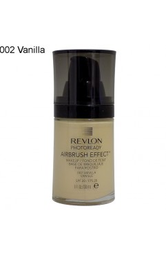 Revlon PhotoReady Airbrush Effect Makeup Foundation - 002 Vanilla (3 Units )