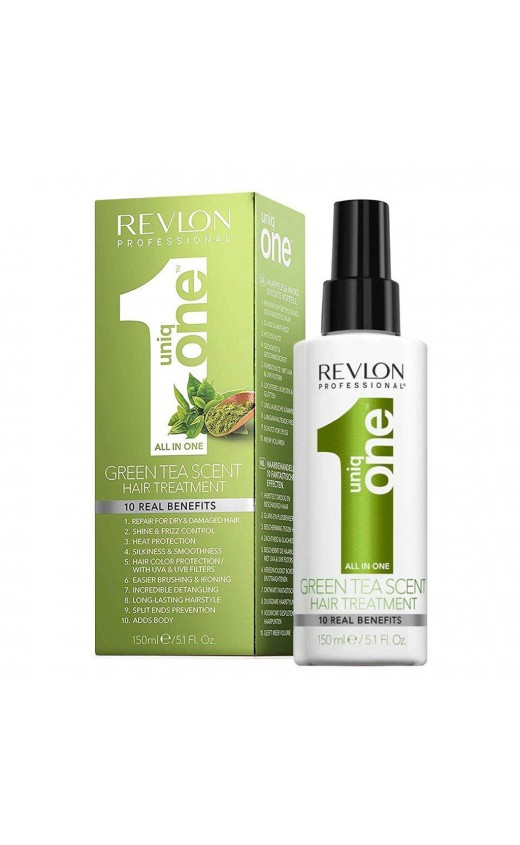 Revlon Professional Unique All In One Hair Treatment 150ml - Green Tea Scent (Each )