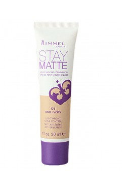 Rimmel Stay Matte Foundation 30ml - True Ivory 103 (12 UNITS)
