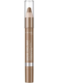 Rimmel Brow This Way Pomade Pencil - 003 Dark (3 Units)
