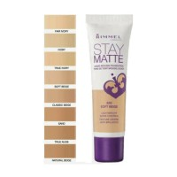 Rimmel Stay Matte Foundation 30ml  - Classic Beige 201 (12 UNITS)