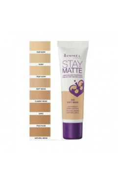 Rimmel Stay Matte Foundation 30ml - Light Ivory 091  (12 UNITS)