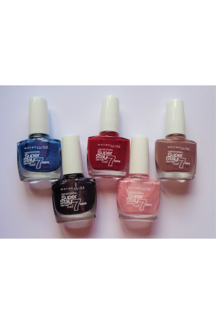 Maybelline Nail Polish Superstay 7 Days / Forever Strong 10ml ( 3 ...