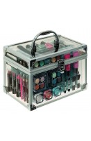 Technic Essential Large Clear Carry Case With Cosmetics (EACH)