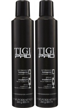 TIGI PRO Workable Hairspray, Workable Hold Hair Spray 300ml (12 Units )
