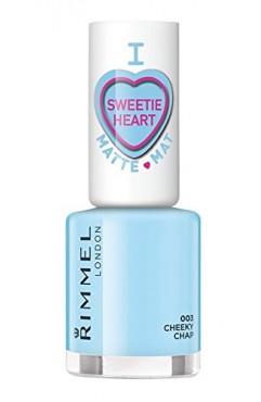 Rimmel Sweetie Heart Edition Matte Nail Polish -Cheeky Chap 003(3 Units)