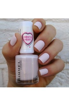 Rimmel Sweetie Heart Edition Matte Nail Polish -Cheeky Gril 001 (3 Units)