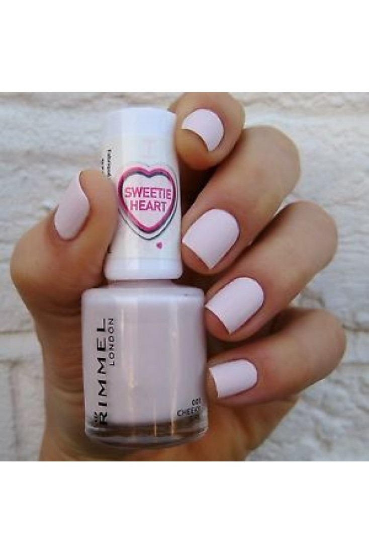 Rimmel Sweetie Heart Edition Matte Nail Polish -Cheeky Gril 001 (3 ...