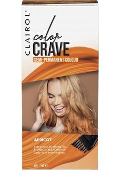 Clairol Colour Crave Semi Permanent Hair Dye 60ml - Apricot (18 Units)