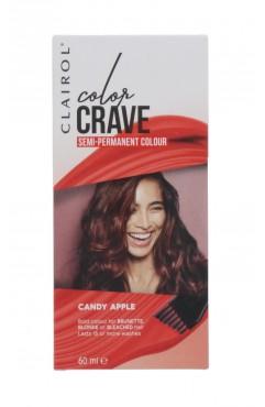 Clairol Colour Crave Semi Permanent Hair Dye 60ml - Candy Apple (18 Units)