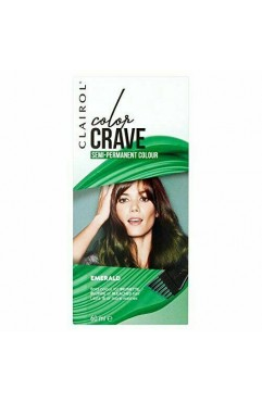 Clairol Colour Crave Semi Permanent Hair Dye 60ml - Emerald (18 Units)