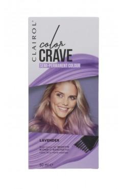 Clairol Colour Crave Semi Permanent Hair Dye 60ml - Lavender (18 Units)