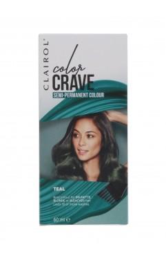 Clairol Colour Crave Semi Permanent Hair Dye 60ml - Teal (18 Units)