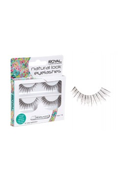 Royal Natural Look False Eyelashes Duo Style 118 (12 UNITS)