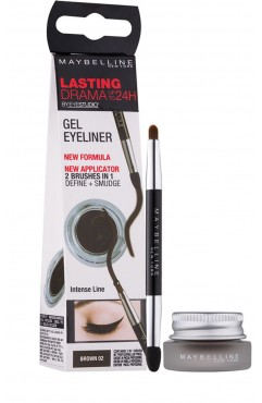 Maybelline Lasting Drama Gel Eyeliner Up To 24H - 01 Black (3 UNITS)