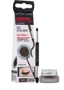 Maybelline Lasting Drama Gel Eyeliner Up To 24H - 01 Black (3 UNITS)