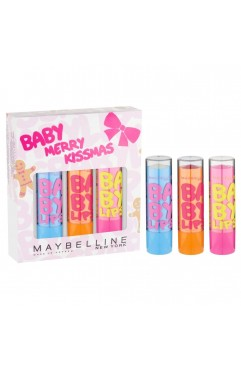 Maybelline Baby Merry Kissmas Baby Lips 3pc Gift Set
