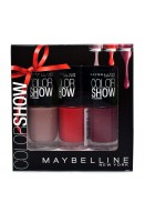Maybelline Color Show 3pc Nail Polish Gift Set 3x 7ml (EACH)