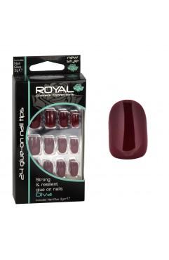 Royal 24 Diva Nail Tips with 3g Glue - (6 Units )