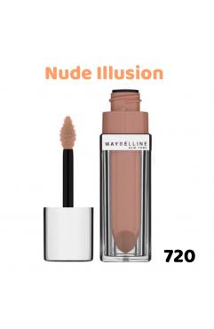 Maybelline Color Sensational Elixir Lip Gloss 5ml - Nude Illusion 720 (3 UNITS)