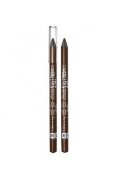 Rimmel Scandaleyes Waterproof Kohl Kajal Eyeliner - Brown 003 ( 3 Units )